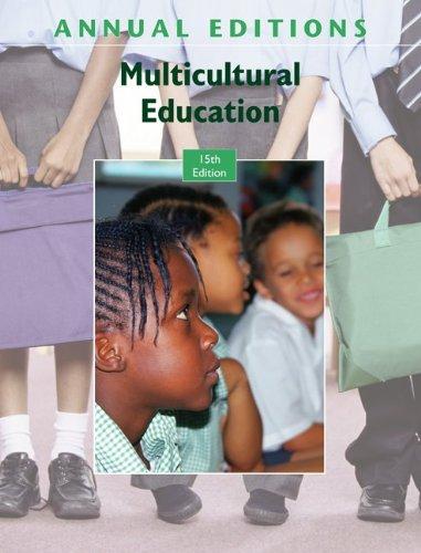 9780073397801: Annual Editions: Multicultural Education, 15/e
