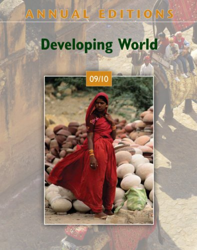 9780073397825: Annual Editions: Developing World 09/10