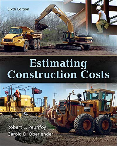 9780073398013: Estimating Construction Costs