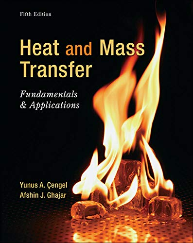 9780073398181: Heat and Mass Transfer: Fundamentals and Applications
