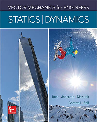 9780073398242: Vector Mechanics for Engineers: Statics and Dynamics (Mechanical Engineering)
