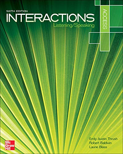 9780073399546: Interactions Access Listening/Speaking Student Book