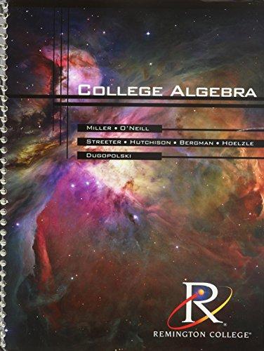 9780073399904: College Algebra