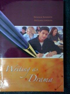 9780073400051: Writing As Drama