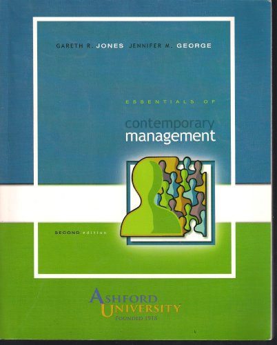 9780073400662: Essentials of Contemporary Management (Ashford University Second Edition)