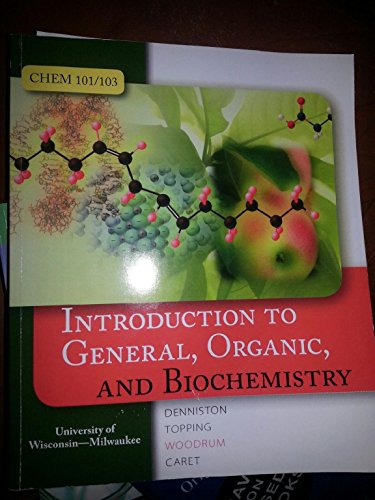 9780073400969: Introduction to General, Organic, and Biochemistry
