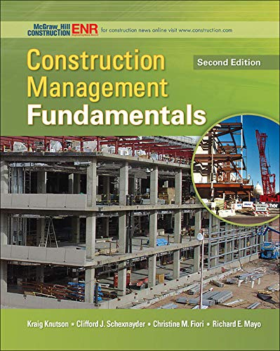 9780073401041: Construction Management Fundamentals (McGraw-Hill Series in Civil Engineering)