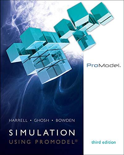 9780073401300: Simulation Using ProModel (Irwin Industrial Engineering)