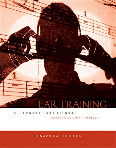 9780073401362: Ear Training: A Technique for Listening, Revised Edition
