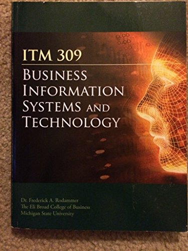 9780073401638: Business Information System and Technology (MSU ITM 309)