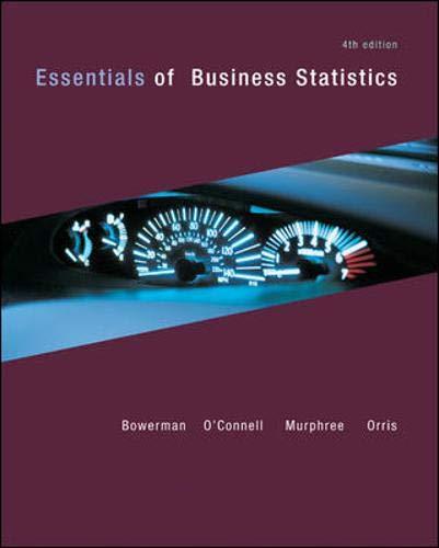 9780073401829: Essentials of Business Statistics