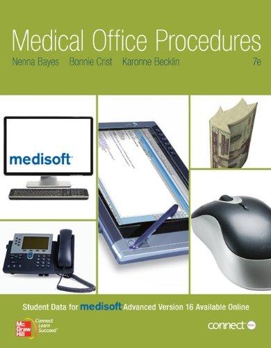 9780073401980: Medical Office Procedures