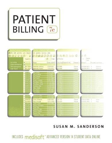 9780073402024: Patient Billing