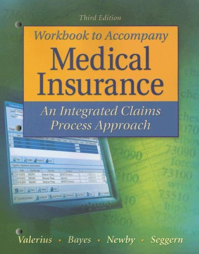 9780073402109: Study Guide/Workbook to Accompany Medical Insurance: An Integrated Claims Approach 3/e