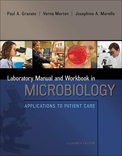 9780073402390: Lab Manual and Workbook in Microbiology: Applications to Patient Care