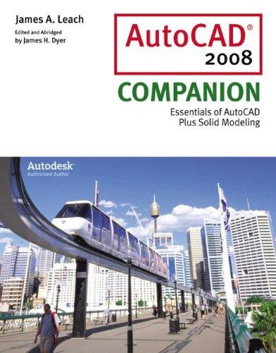 9780073402468: AutoCAD 2008 Companion (McGraw-Hill Graphics)