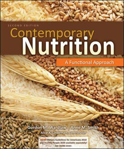 9780073402536: Contemporary Nutrition: A Functional Approach