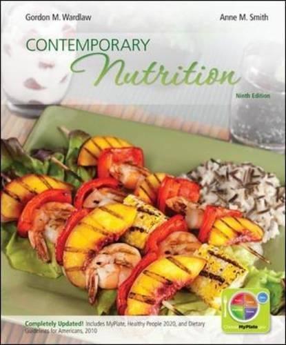 Contemporary Nutrition: Gordon Wardlaw, Anne