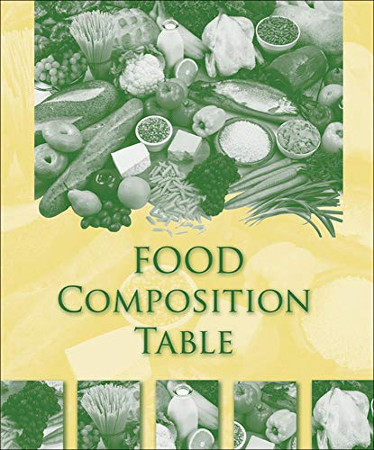Food Composition Table: Higher Education McGraw-Hill