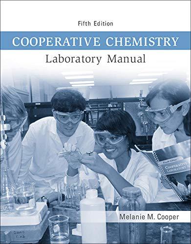 Cooperative Chemistry Lab Manual: Cooper, Melanie M.
