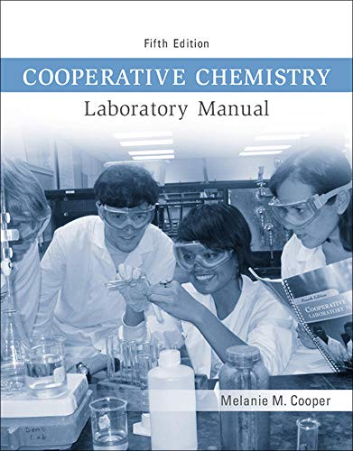 9780073402727: Cooperative Chemistry Lab Manual