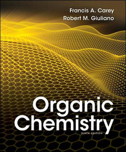 Organic Chemistry, 9th Edition: Carey Dr., Francis