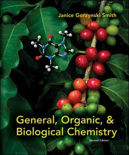 9780073402789: General, Organic, & Biological Chemistry