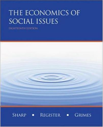 9780073402802: Economics of Social Issues