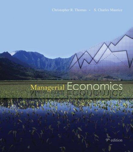 9780073402819: Managerial Economics