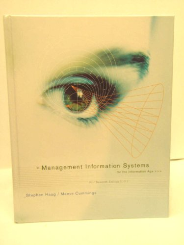 9780073402918: Management Information Systems for the Information Age with CDROM