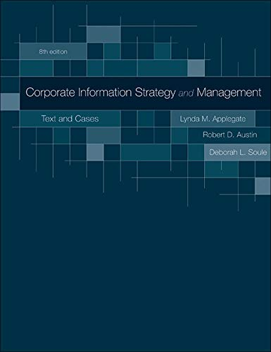 9780073402932: Corporate Information Strategy and Management:  Text and Cases