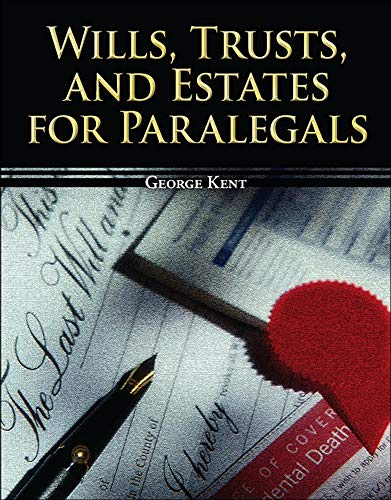 9780073403069: Wills, Trusts, and Estates for Paralegals (McGraw-Hill Paralegal Titles)