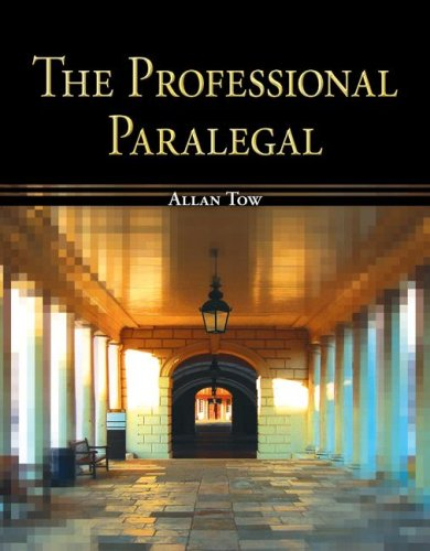 9780073403090: The Professional Paralegal