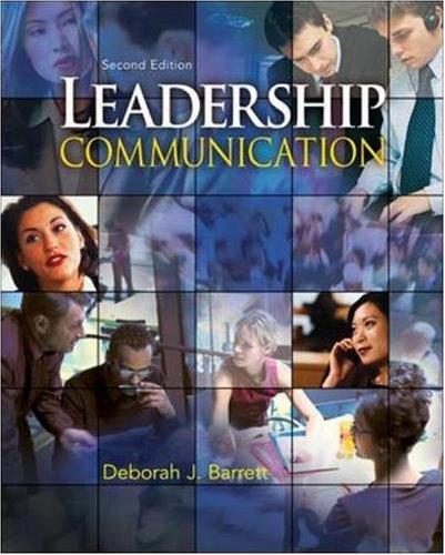 9780073403144: Leadership Communication