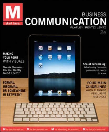 9780073403168: M: Business Communication