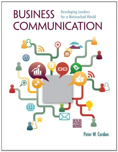 9780073403199: Business Communication: Developing Leaders for a Networked World