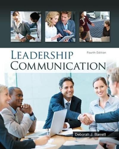 9780073403205: Leadership Communication