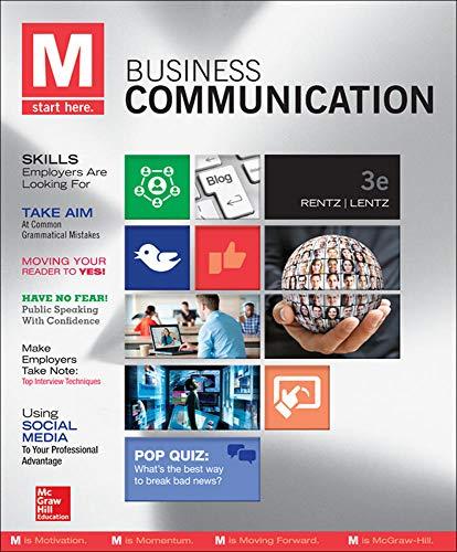 M: Business Communication: Rentz, Kathryn, Lentz,