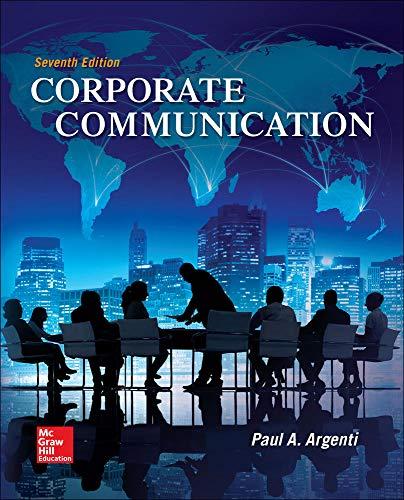 9780073403274: Corporate Communication