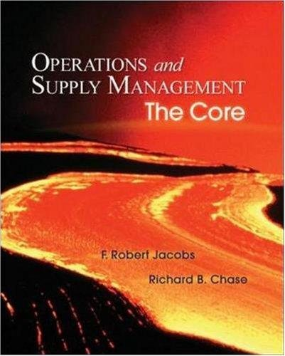 9780073403304: Operations Supply Mgmt-Core