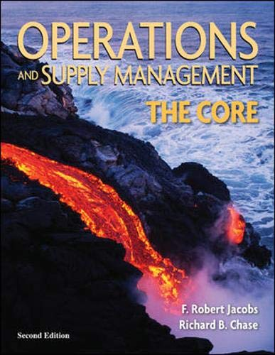 9780073403335: Operations and Supply Management: The Core (Operations and Decision Sciences)