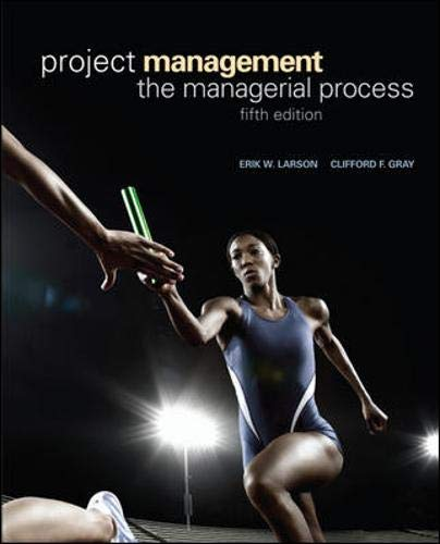 9780073403342: Project Management: The Managerial Process