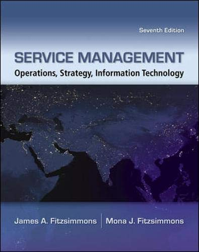 9780073403359: Service Management: Operations, Strategy, Information Technology