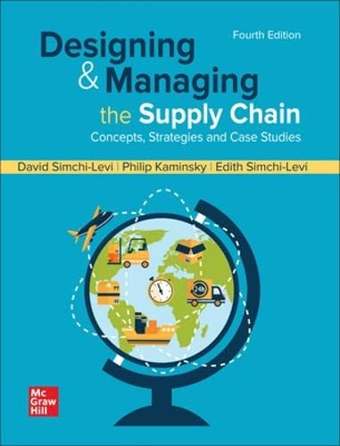 9780073403366: Designing and Managing the Supply Chain: Concepts, Strategies and Case Studies