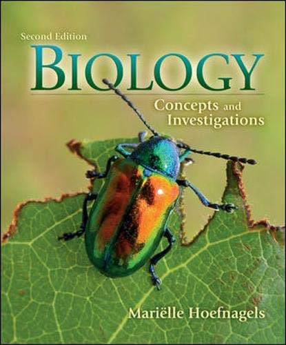 9780073403472: Biology Concepts and Investigations