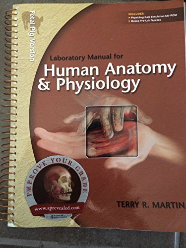 9780073403588: Laboratory Manual for Human A&p: Fetal Pig Version