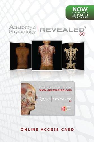 Student Access Card Anatomy & Physiology Revealed: Toledo, The University