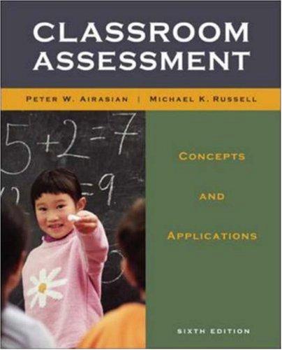 9780073403762: Classroom Assessment