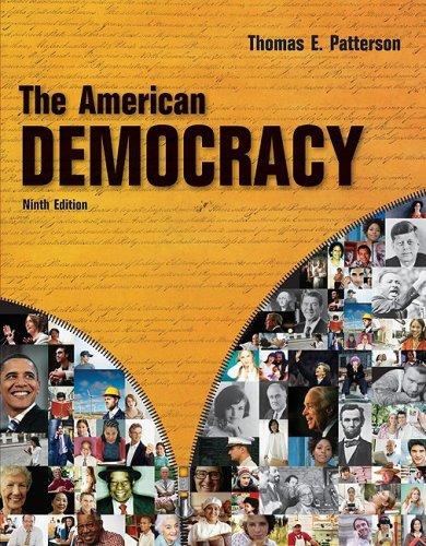 9780073403878: The American Democracy