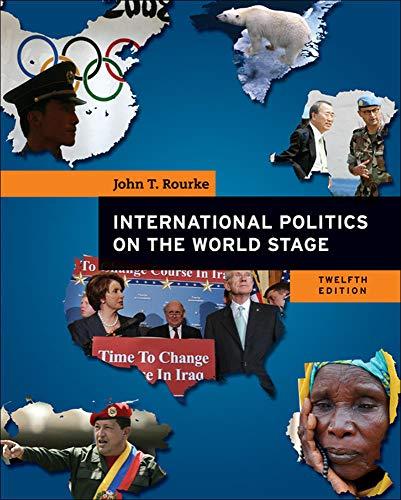 9780073403885: International Politics on the World Stage